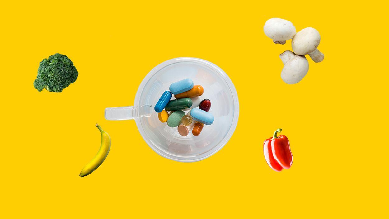 Afbeelding van Wat doet een vitamineoverschot met je lichaam?