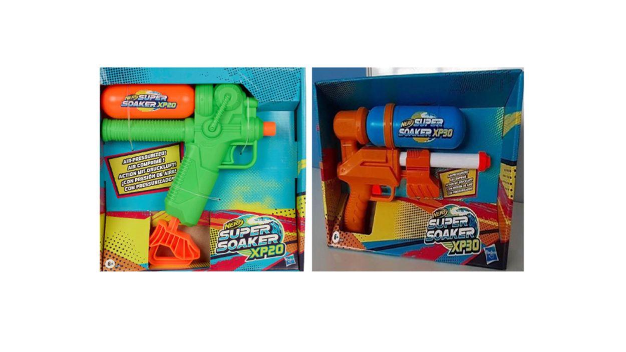 Afbeelding van Waarschuwing voor lood in Super Soaker XP20 en XP30 van Hasbro