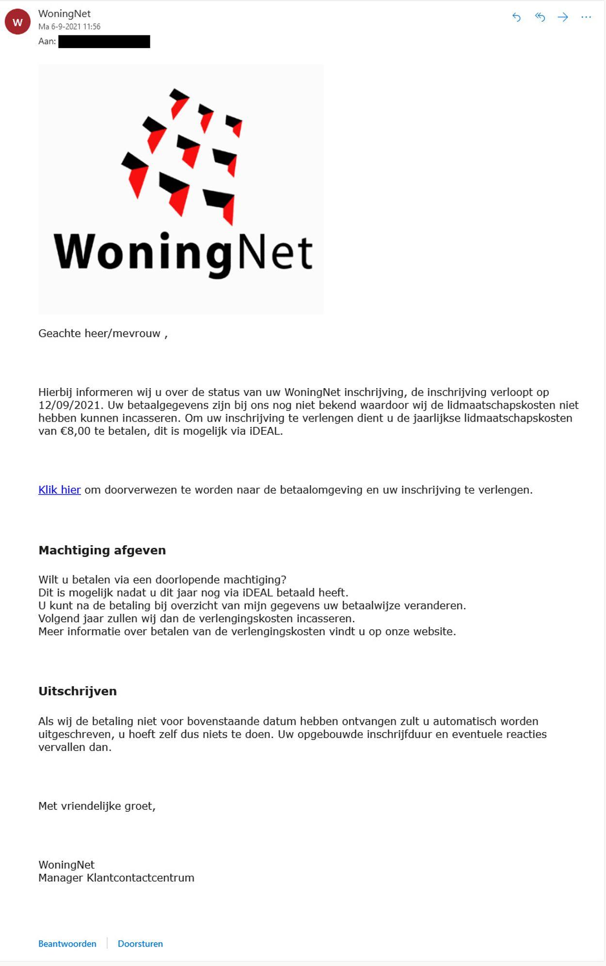 woningnet-phishing