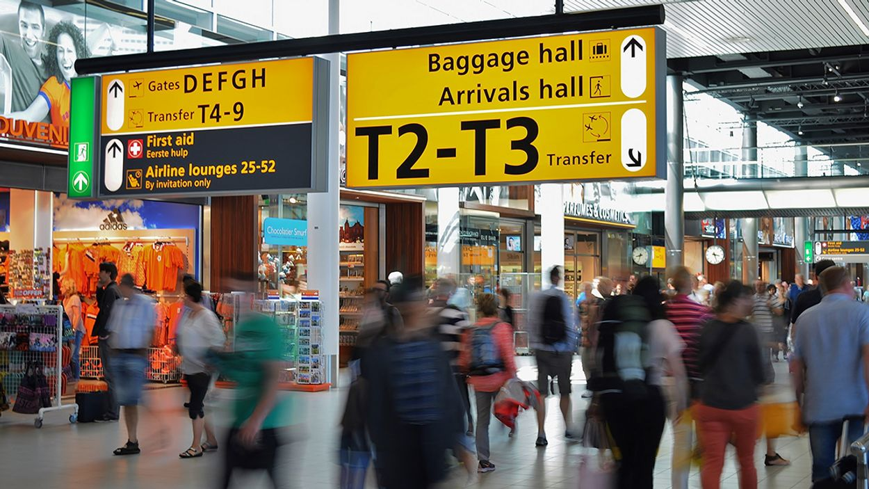 Afbeelding van Schiphol heeft driekwart minder reizigers in augustus