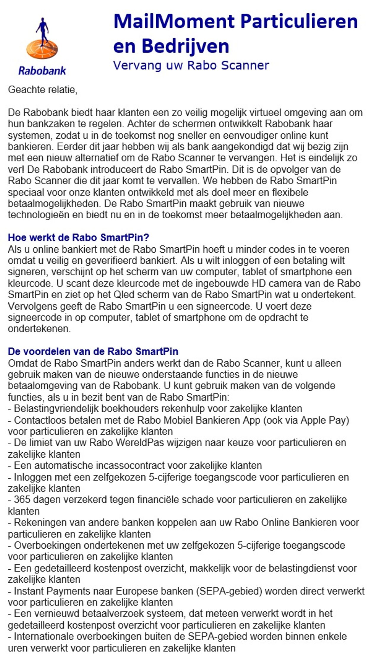 Rabo Phishing (1 van 2)