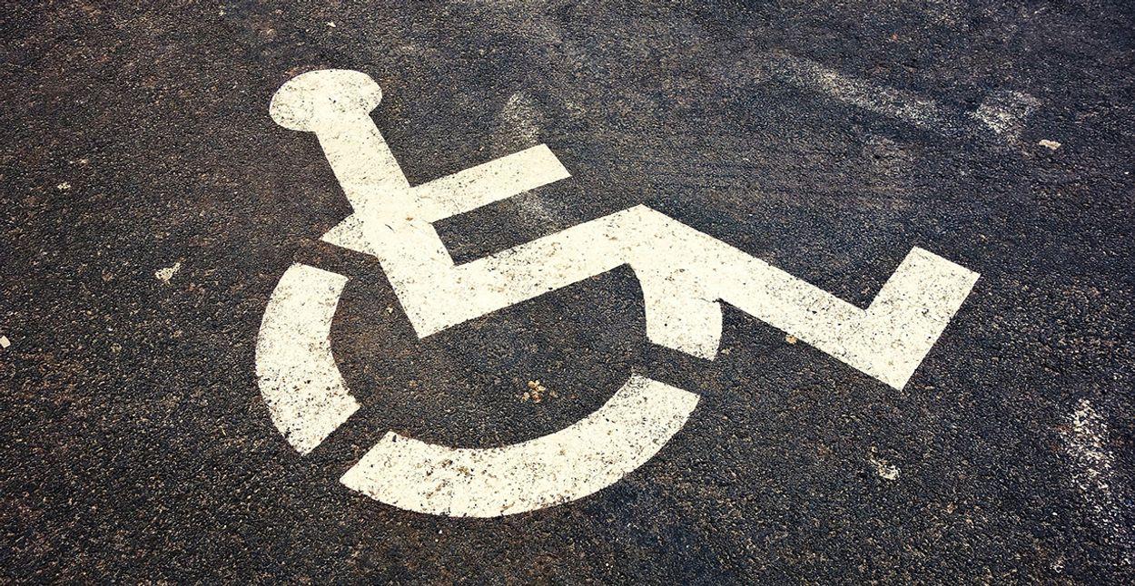 Afbeelding van Richt anderhalve-metersamenleving ook in voor mensen met beperking