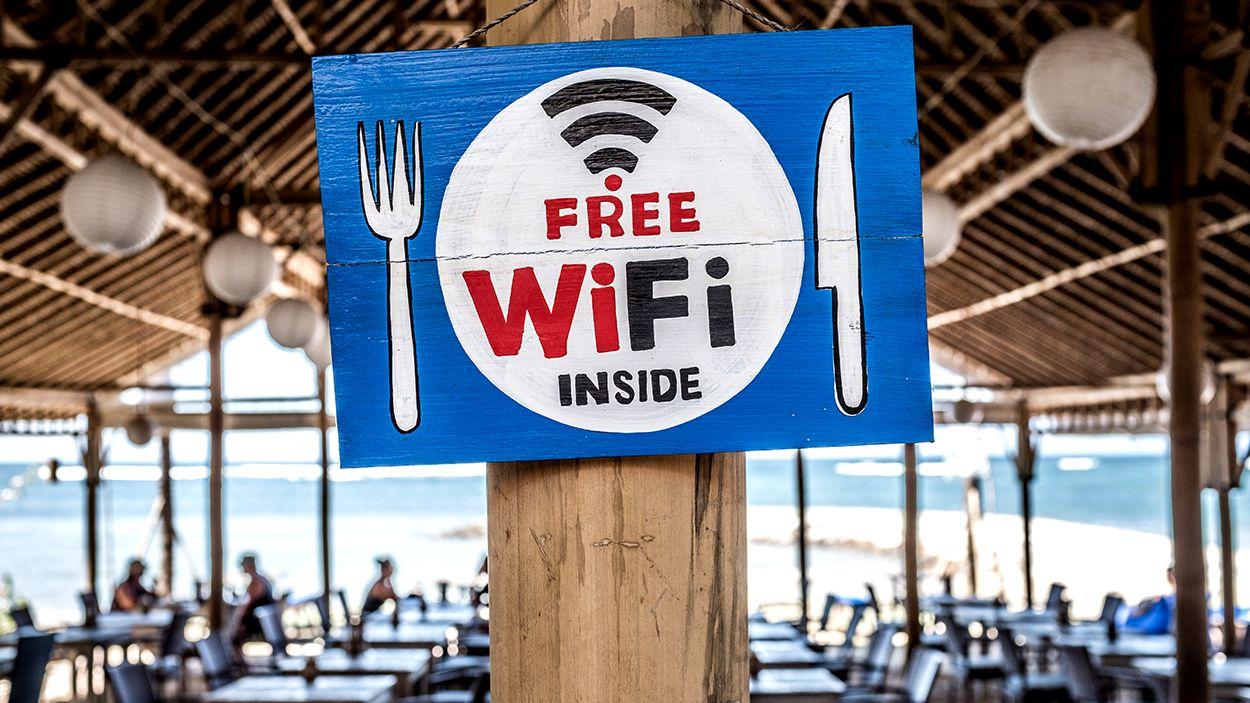 Afbeelding van Veilig internetten op vakantie doe je zo!