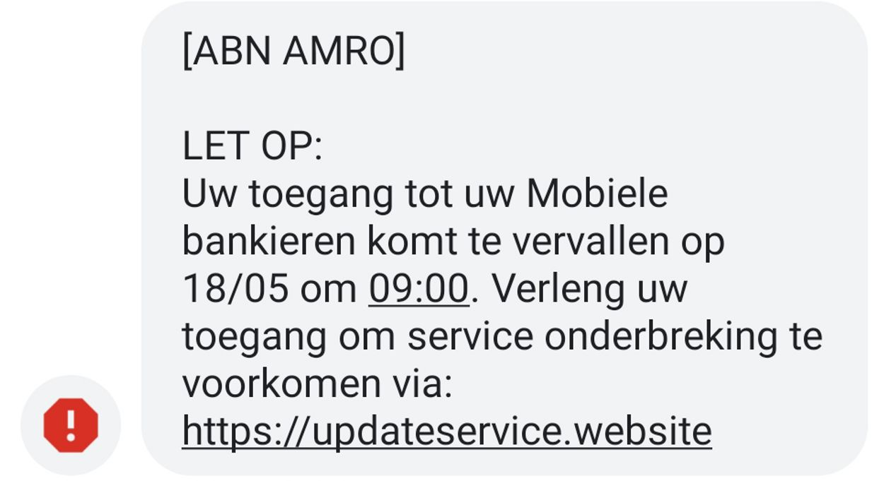 sms abn amro nep2