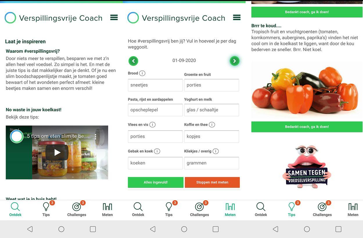 app voedselverspilling 1127 screens