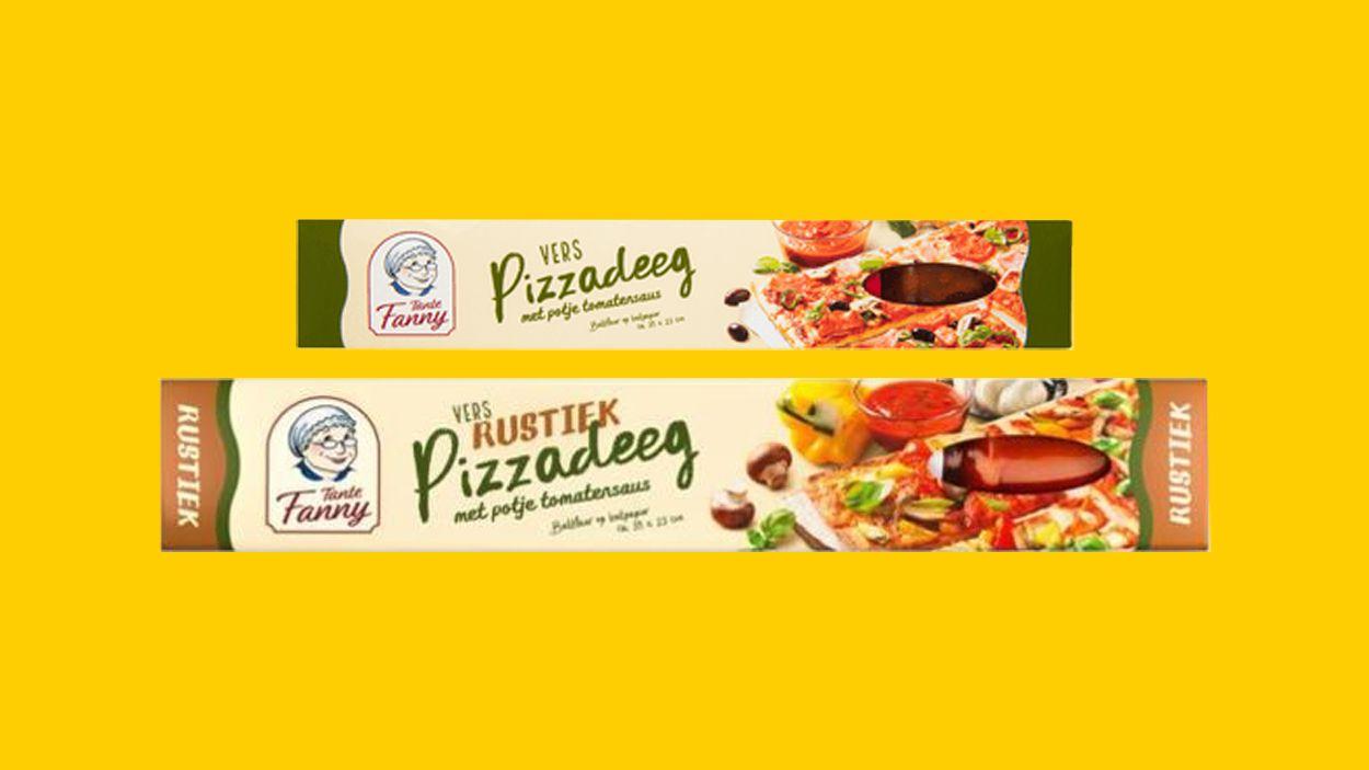 Afbeelding van Pizza-kit Tante Fanny bevat mogelijk metalen deeltjes
