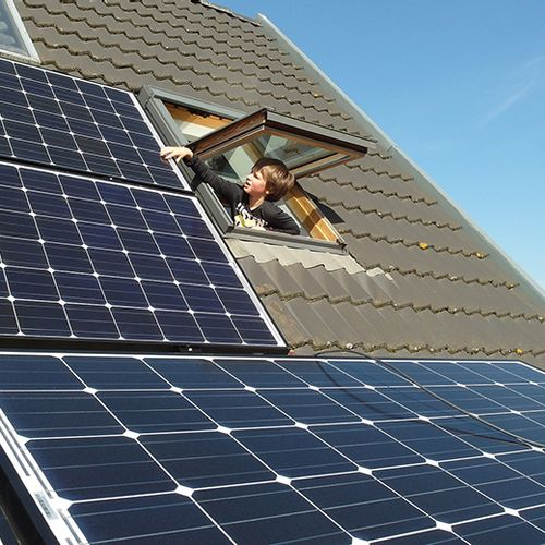 Afbeelding van Belbus: zonnepaneel zonder voordeel