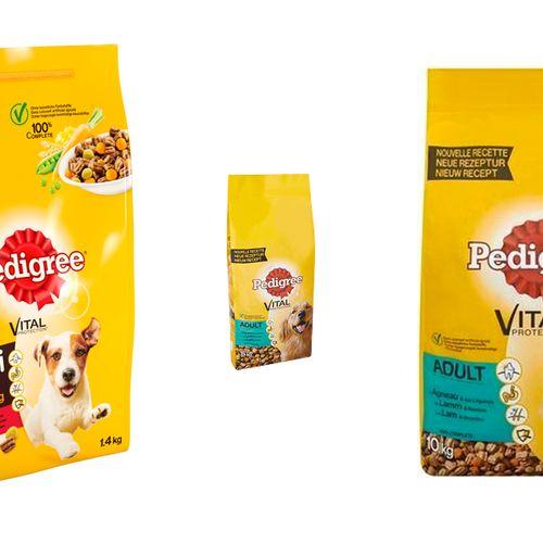 Afbeelding van Pedigree hondenbrokken met te veel vitamine D teruggeroepen