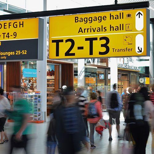 Afbeelding van Gemiddeld vliegen nog dagelijks 35.000 mensen van en naar Schiphol
