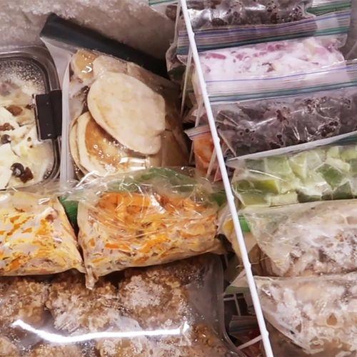 Afbeelding van Verse groenten, fruit, vlees of vis bewaren? Invriezen doe je zo!
