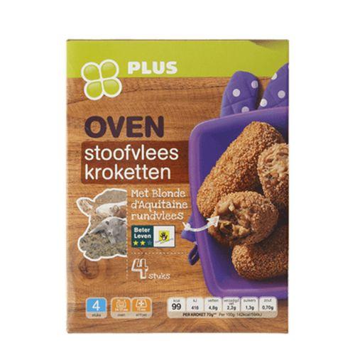 Afbeelding van PLUS roept stoofvleeskroketten terug om schaaldierallergeen